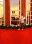 Me standing on the outside of the oval office exhibit